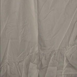 White wrap gap skirt size 10
